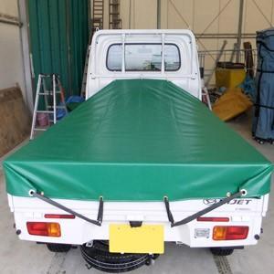 軽トラックシート変形型仕様(前部1.93m/後部1.73m×2.15m)EH-56 送料無料|the-tent|03