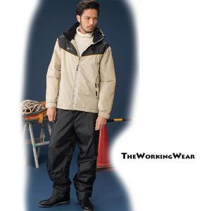 防寒着 作業服 作業着 30336-0防水防寒スーツ・オーウェン 防寒服 上下 3Lサイズ メンズ|the-workingwear
