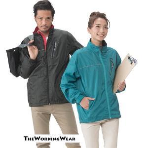 業服 作業着 防寒着の専門店The Working Wear/通年用/30781-0イベントジャケット 防寒 ウィンドブレーカー・ウッディ|the-workingwear