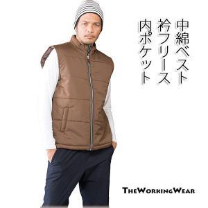 作業服 作業着 防寒着の専門店The Working Wear/防寒用/390-0 防寒ベスト 防寒着 3L 4L 5Lサイズ 軽量 中綿 ベスト|the-workingwear