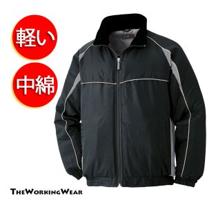 作業服 作業着 防寒着の専門店The Working Wear/防寒用/765-1 防寒ブルゾン 防風 中綿 軽防寒 3L 4L 5Lサイズ|the-workingwear