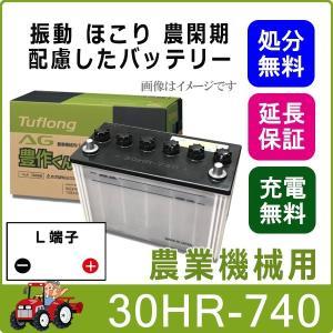 30HR-740 日立化成 農機 バッテリー トラクター 耕うん機 国産 AG 豊作くん 互換 30HR-740 30HRY 30HR S-30HRY thebattery