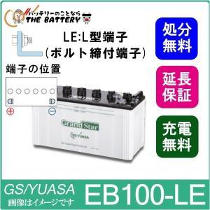 EB100-LE L形端子(ボルト締付端子) EBグランドスターシリーズ|thebattery
