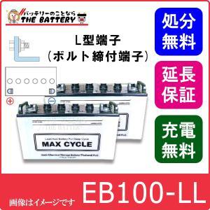 2個セット EB100 -L L形端子(ボルト締付端子) 日立(新神戸)|thebattery