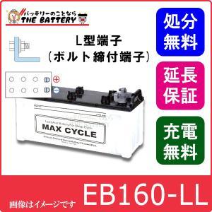 EB160 -L L形端子(ボルト締付端子) 日立(新神戸)|thebattery