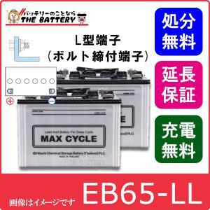 2個セット EB65 - HIC80 -L L形端子(ボルト締付端子)|thebattery