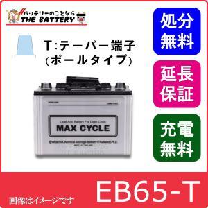 EB65 HIC80 -P ポールタイプ(テーパー端子) 日立(新神戸)|thebattery