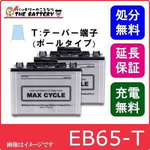 2個セット EB65 HIC80 -P ポールタイプ(テーパー端子)|thebattery