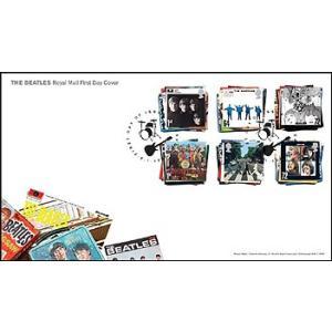 初日カバー/ビートルズ・アルバム切手(6種セット) thebeatles