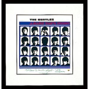 『ハード・デイズ・ナイト』オフィシャル・アルバム・リトグラフ|thebeatles