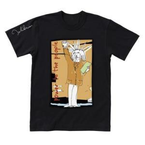 ジョン・レノン ドローイングTシャツ 'Power To The People'|thebeatles