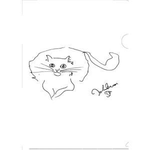 クリアファイル「ジョン・レノンが描いた愛猫」|thebeatles
