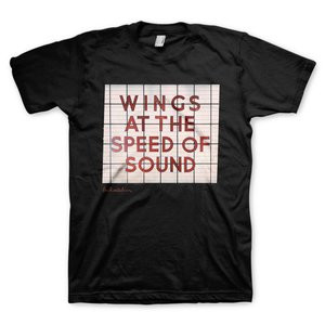 """Tシャツ""""WINGS AT THE SPEED OF SOUND""""