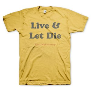 Tシャツ「Live And Let Die」(死ぬのは奴らだ)|thebeatles
