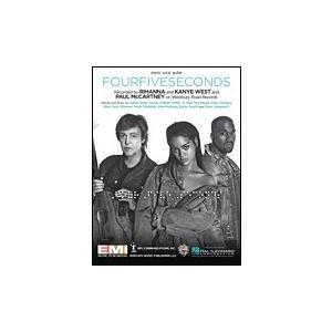 洋楽譜『FourFiveSeconds』|thebeatles