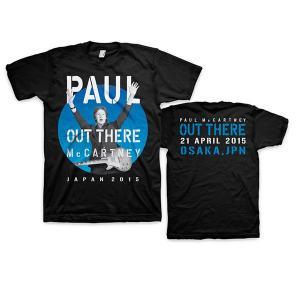 Tシャツ ポール・マッカートニー アウトゼア(大阪2015.4.21)|thebeatles
