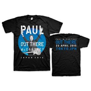 Tシャツ ポール・マッカートニー アウトゼア(東京ドーム2015.4.23)|thebeatles