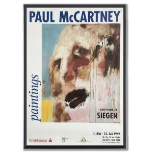 ポール・マッカートニー・ペインティングス ドイツ展覧会アート・ポスター『ビッグマウンテン』|thebeatles
