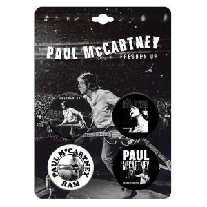 ポール・マッカートニー缶バッジ・セット thebeatles