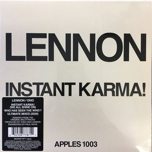 INSTANT KARMA! (2020 ULTIMATE MIXES) アナログ・シングル|thebeatles