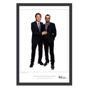 アートプリント額『ポール・マッカートニー&リンゴ・スター』|thebeatles