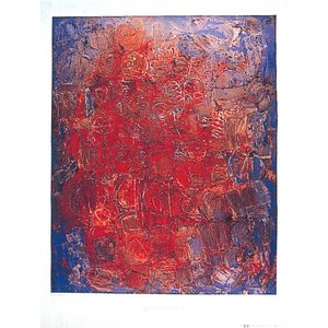 『ハンブルク・レッド』 スチュアート・サトクリフの絵画をアート・ポスターに|thebeatles