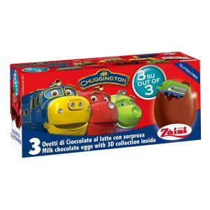クール配送 チャギントン チョコエッグ おもちゃ入り 3個入り イタリア ディズニー theboninc