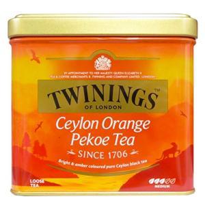 トワイニング セイロンオレンジペコリーフティ 缶入り 200g|theboninc
