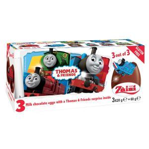 トーマス チョコエッグ おもちゃ入り 3個入り イタリア ディズニー|theboninc