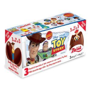 トイストーリー4 チョコエッグ おもちゃ入り 3個入り イタリア ディズニー|theboninc