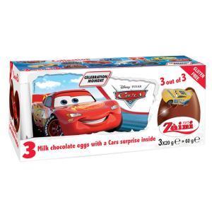 カーズ チョコエッグ おもちゃ入り 3個入り イタリア ディズニー