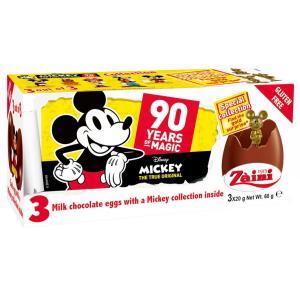 クール配送 ミッキーフレンズ チョコエッグ おもちゃ入り 3個入り イタリア ディズニー theboninc