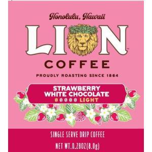 期間限定 ライオンコーヒー ドリップストロベリーホワイトコーヒー 10P theboninc