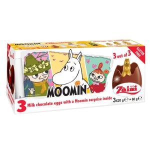 ムーミン チョコエッグ おもちゃ入り 3個入り イタリア ディズニー...