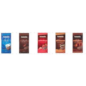 ポーランド産のお買得の板チョコレートです。 ミルク ダーク ティラミス ストロベリー トリフの5種類...
