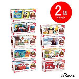 選んでお得2箱セット!! チョコエッグ おもちゃ入り 1箱3個入り イタリア ディズニー ムーミン完売|theboninc
