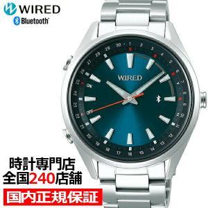 セイコー ワイアード TOKYO SORA Bluetooth AGAB410 メンズ 腕時計 クオーツ グラデーション ブルーグリーン theclockhouse-y