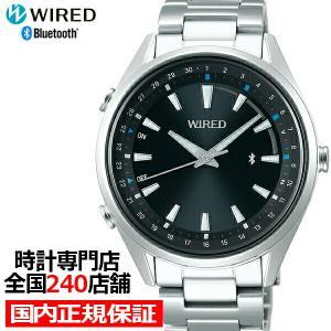 セイコー ワイアード TOKYO SORA Bluetooth AGAB411 メンズ 腕時計 クオーツ グラデーション ブラック theclockhouse-y