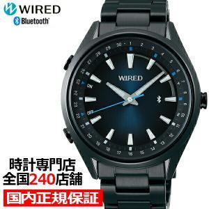 セイコー ワイアード TOKYO SORA Bluetooth AGAB413 メンズ 腕時計 クオーツ グラデーション ブラック theclockhouse-y