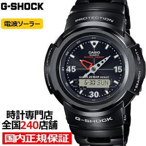 10月9日発売 G-SHOCK Gショック フルメタル アナデジコンビ 初代デザインモデル AWM-500-1AJF メンズ 腕時計 電波ソーラー ブラック 国内正規品 カシオ theclockhouse-y