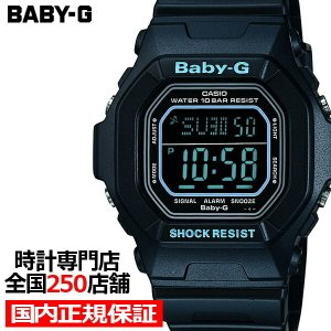 BABY-G ベビーG スクエア ブラック BG-5600BK-1JF レディース 腕時計 デジタル 国内正規品 カシオ|theclockhouse-y