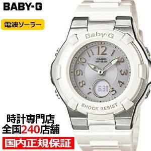 BABY-G ベビージー BGA-1100-7BJF カシオ レディース 腕時計 電波 ソーラー アナデジ ホワイト ウレタン 国内正規品|theclockhouse-y