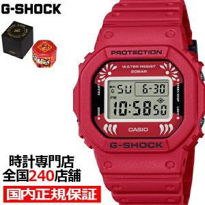 12月4日発売 G-SHOCK Gショック DARUMA 達磨 DW-5600DA-4JR メンズ 腕時計 電池式 デジタル レッド 国内正規品 カシオ|theclockhouse-y