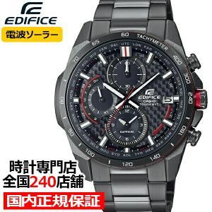 エディフィス カーボンファイバーダイアル EQW-A2000DC-1AJF メンズ 腕時計 電波ソーラー グレー 国内正規品 カシオ|theclockhouse-y