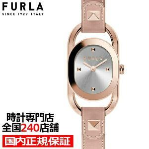 FURLA フルラ STUDS INDEX フルラスタッズインデックス FL-WW00008003L3 レディース 腕時計 クオーツ 電池式 革ベルト ライトピンク シルバー theclockhouse-y