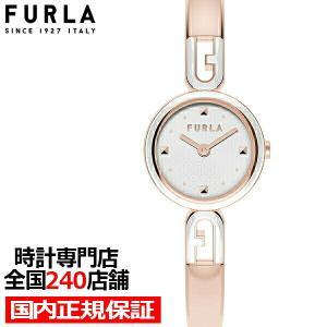 FURLA フルラ BANGLE バングル FL-WW00010006L3 レディース 腕時計 クオーツ 電池式 メタル 樹脂ベルト ローズゴールド theclockhouse-y
