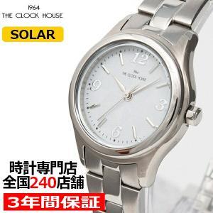 ザ・クロックハウス ビジネスカジュアル LBC1004-WH1A レディース 腕時計 ソーラー ステンレス ホワイト|theclockhouse-y