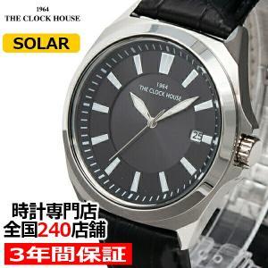 ザ・クロックハウス MBC1004-BK1B ビジネスカジュアル メンズ 腕時計 ソーラー黒革ベルト ブラック 雑誌掲載 THE CLOCK HOUSE|theclockhouse-y