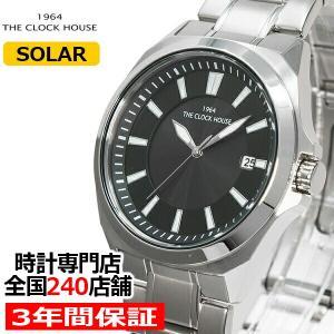 ザ・クロックハウス MBC1004-BK2A ビジネスカジュアル メンズ 腕時計 ソーラー ステンレス ブラック 雑誌掲載 THE CLOCK HOUSE|theclockhouse-y