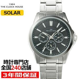 ザ・クロックハウス MBC1006-BK1A ビジネスカジュアル メンズ 腕時計 ソーラー ステンレス ブラック|theclockhouse-y